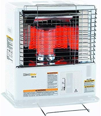 The Dura Heat Convection Kerosene Heater is safe to use indoors and it comes with some safety features too. If it is tipped over, it will automatically shut off. It also heaters a drip tray so that kerosene won't leak into your room.