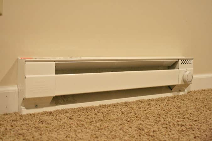 Baseboards often accumulate dust, which can spell trouble for baseboard heat.