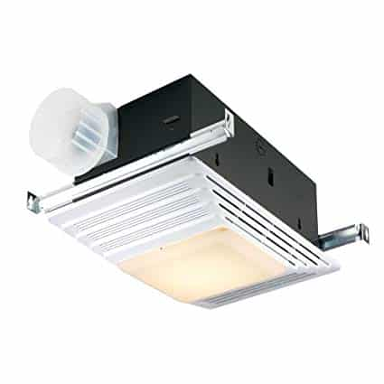 Broan 655 Heater and Heater Bath Fan with Light Combination. Installation is easy with adjustable, slotted mounting brackets. Broan-Nutone 655. Qlabe analyzes and compares all Heater Fan With Lights for bathroom.