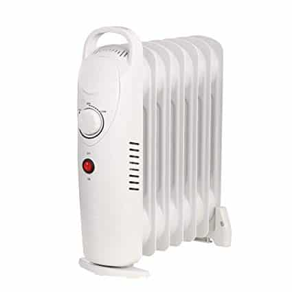 Air Choice OH12 Oil Filled Radiator Heater, 700W Space-Heater,