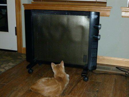 DeLonghi HMP1500 Mica Thermic Panel Heater Review. This space heater looks more like a flat screen TV than it does a heater but don't let that fool you. It's a very innovative type of heater that works great and will give you some nice extra heat in any room in your home it's placed in.