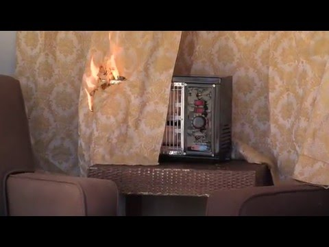 Don't keep anything above space heater, especially combustible items.