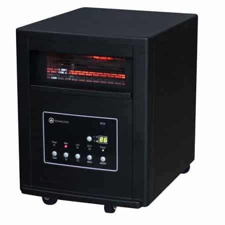 Homegear Pro 1500w Large Room Infrared Space Bigger counterparts should never scare you because with this heater, you will get just the best infrared heater.