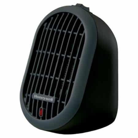 Honeywell Heat Bud Ceramic Portable-Mini Heater, HCE100 Series. The Honeywell Heat Bud Ceramic Portable Heater is an energy efficient solution that provides just the right amount of heat. An ideal addition for personal spaces, this portable heater can be used anytime in the home, at school or in the office.