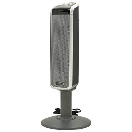 Lasko 5397 Ceramic Pedestal Heater with Digital Remote Control - A Compact Heating Appliance The Lasko digital heater features a smart tower design and can be used in baby rooms and nursery