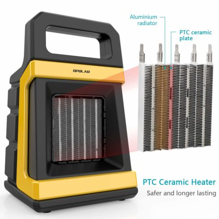 Opolar is a popular brand in the HVAC arena and this 1500 Watt is a testament and best space heater for your children's room