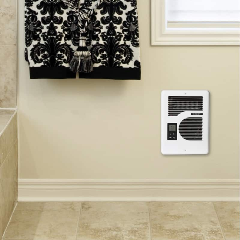 Cadet cec163tw electric fan wall heater – this smart and energy efficient heater possesses the capacity to offer 30% more energy efficient heating.