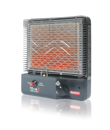 The Camco 57331 Olympian Wave-3 3000 BTU LP Gas Catalytic Heater