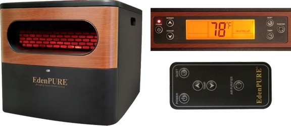 The Edenpure A5095 Infrared heater review - The EdenPURE A5095 infrared heater is one that is the best infrared heater for a smaller room.