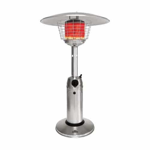 Napoleon patio heaters allow you to extend outdoor activities when the season is cooler. These patio heaters generate infrared radiant heat rays which heat objects rather than surrounding air, keeping you cozy and warm