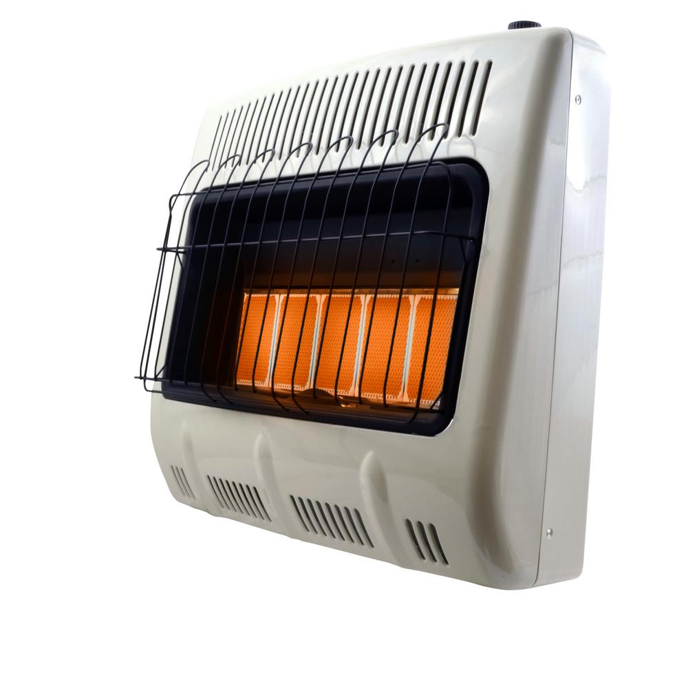 Mr. Heater Corporation Vent-Free 10,000 BTU Radiant Propane Heater - This Radiant 10,000 BTU Liquid Propane Vent Free heater is the perfect supplemental heating solution even on the coldest days.